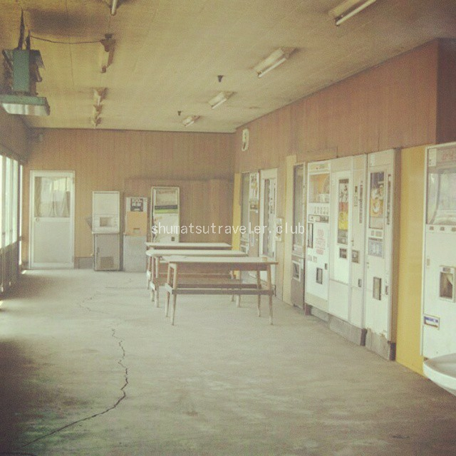 レトロ自販機も…時が止まった廃自販機コーナー